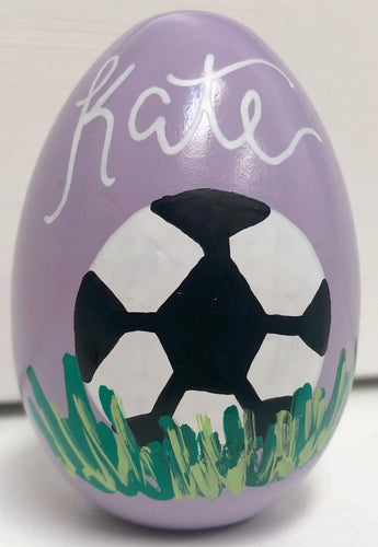 Easter Egg- Standard Soccer Ball