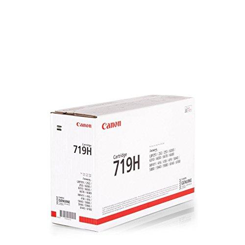 249201 - Canon 719H (Yield: 6,400 Pages) High Yield Black