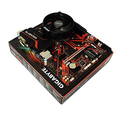 ADMI CPU Motherboard Bundle: AMD Ryzen 5 2600 CPU Six Core