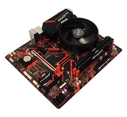 ADMI CPU Motherboard Bundle: AMD Ryzen 7 2700X CPU Six Core