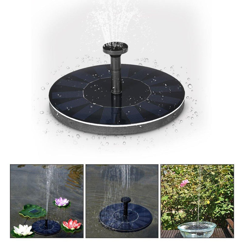 Anself Solar Pond Fountain Brushless Pump Plants Watering