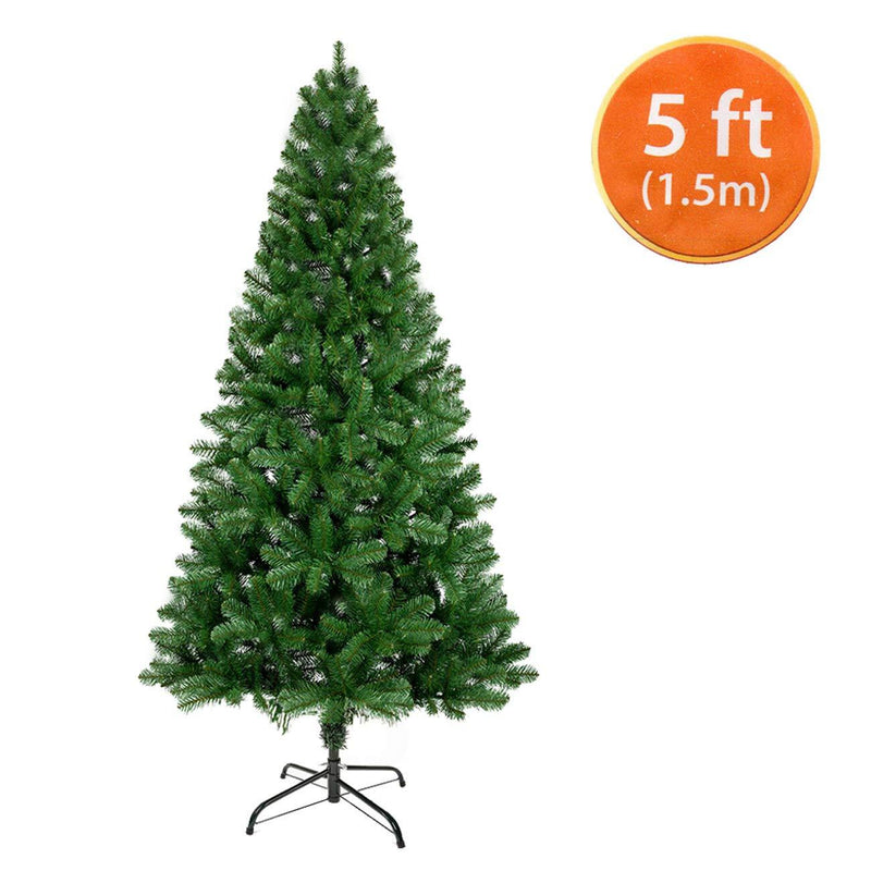ANSIO Christmas Tree 5ft / 1.5M Artificial Christmas Trees