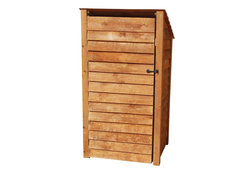 Arbor Garden Solutions Wooden Log Store With Door 6Ft (1.4