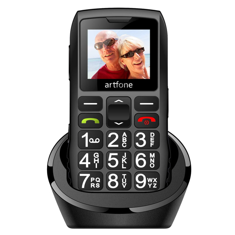 artfone Big Button Mobile Phone for Elderly,Upgraded GSM