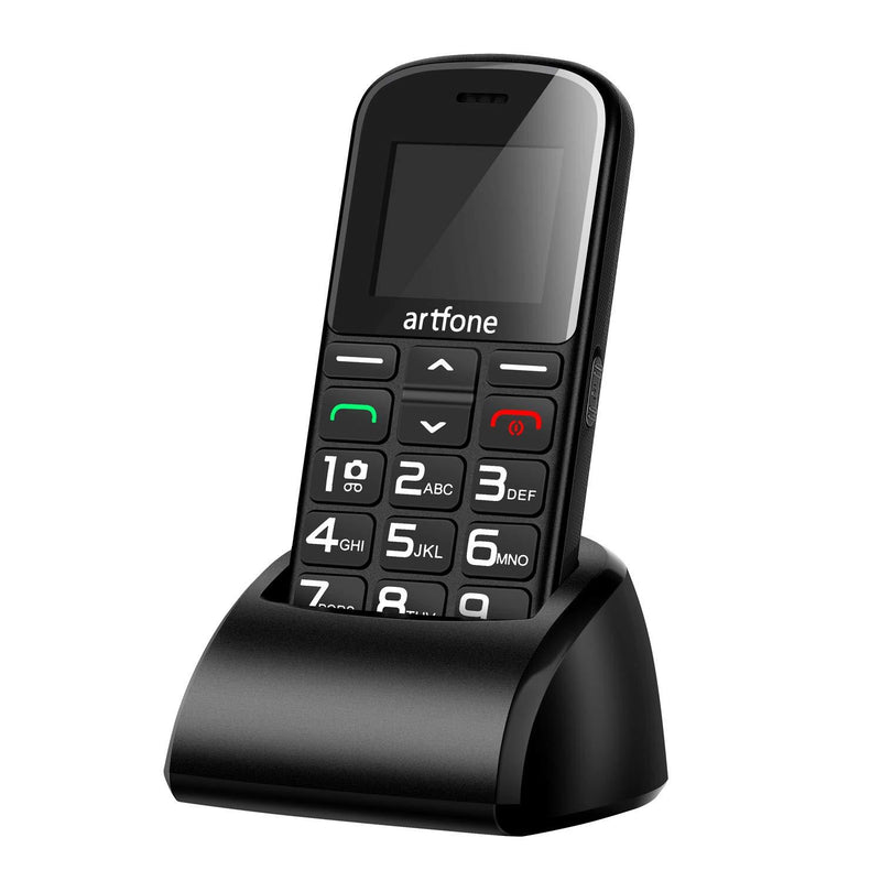 Artfone CS182 Big Button Mobile Phone Senior Unlocked Mobile
