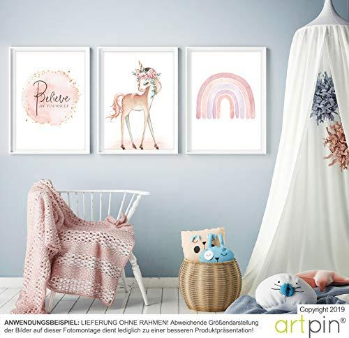 artpin® Children's Room Poster A4 Pictures Baby Room