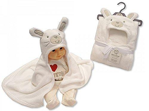 Baby Hooded Wrap Blanket Ultra Soft Warm Blanket (Bunny