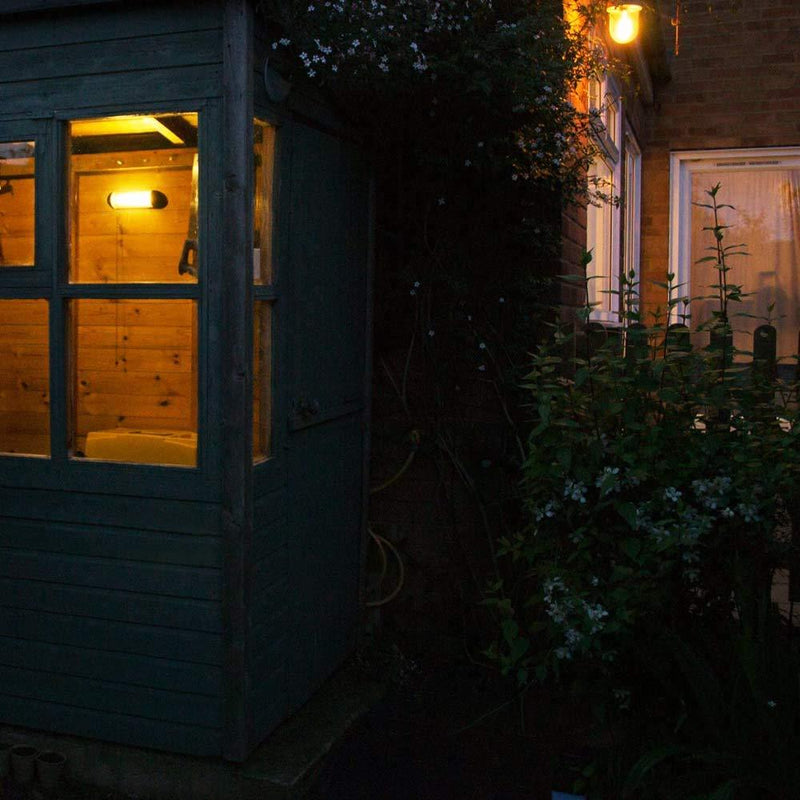 Beam Solar Powered Shed Light
