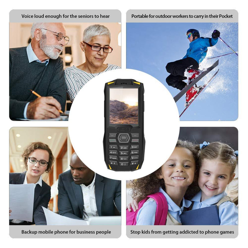 Blackview BV1000 Button phone 2+1 Triple Slot 2.4 Inch