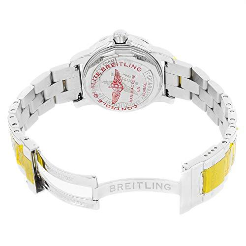 Breitling Colt 33 Black Dial Diamonds Ladies Quartz Watch