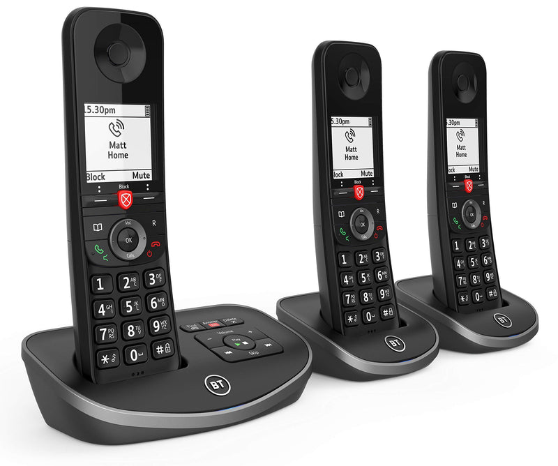 BT Advanced Cordless Home Phone with 100% Nuisance Call