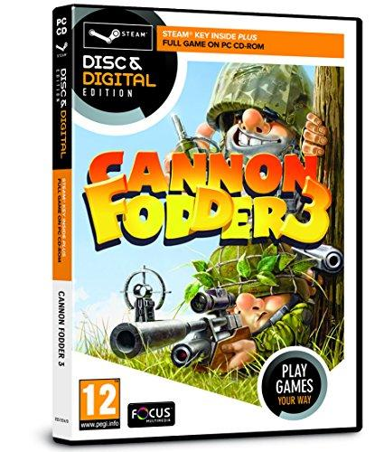 Cannon Fodder 3 (PC CD & Steam Key)