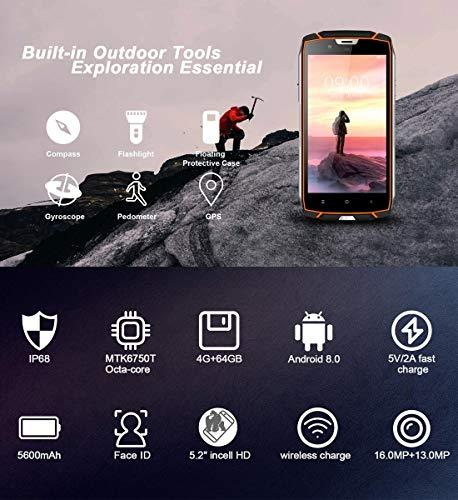 CHEN HUAN CHENG -VK7000 Triple Proofing Phone 4GB+64GB IP68