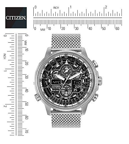 Citizen Navihawk AT Men's Eco Drive Watch with Black Dial