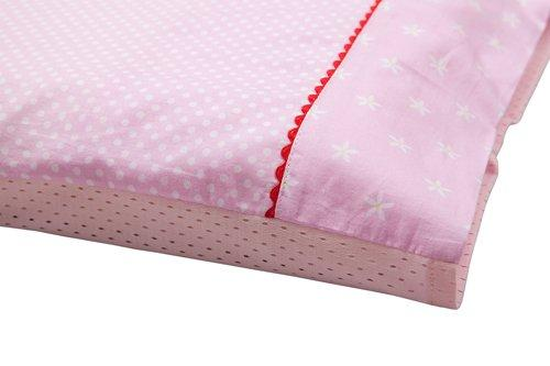 Clevamama Replacement Toddler Pillow Case (Pink)