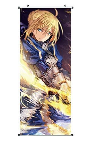 CoolChange Big Fate Stay Night Scroll Poster / Kakemono made