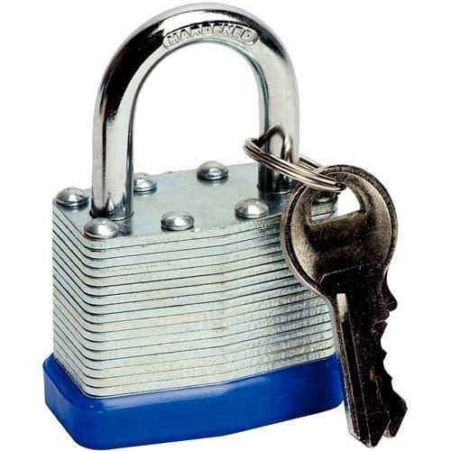 Deet TM711- 50mm PADLOCK. IDEAL FOR GARDEN SHED TOOL BOX