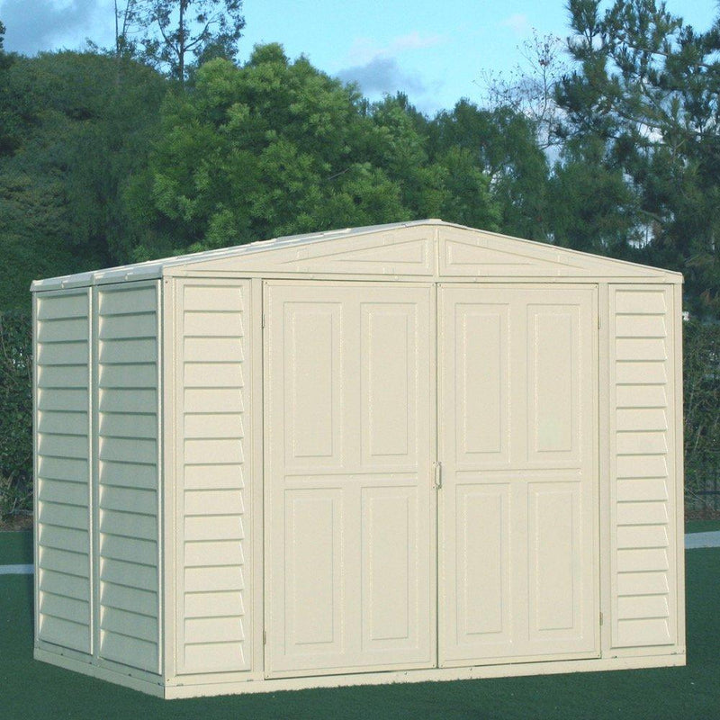 Duramax DuraMate 8' x 6' Plastic Garden Shed with Foundation