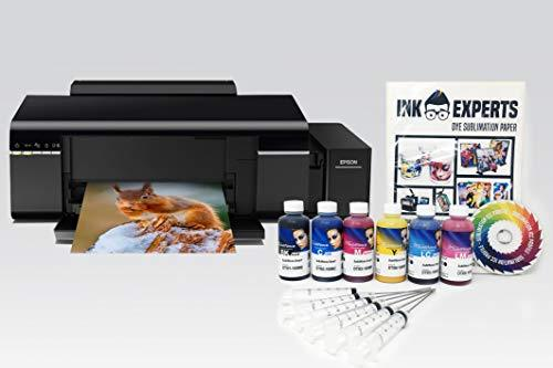 Dye Sublimation Printer Bundle - based on an Epson L805 inc.