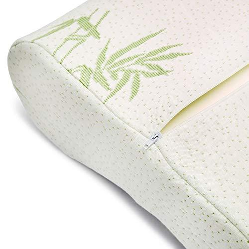 Egypto Bamboo Memory Foam Contour Cot Pillow - Cot Bed