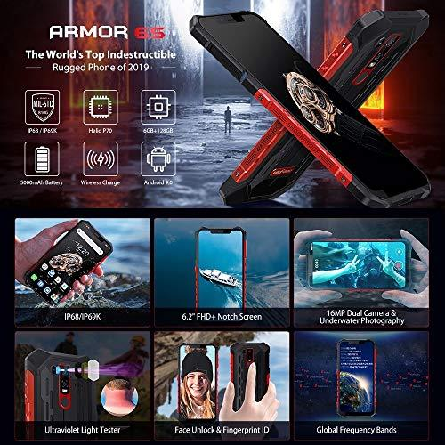 FAN Mobile phone Armor 6S Rugged Phone Dual 4G & VoLTE
