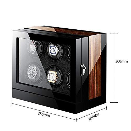 FEE-ZC Gift Festival Wooden 6+0 Automatic Watch Winder