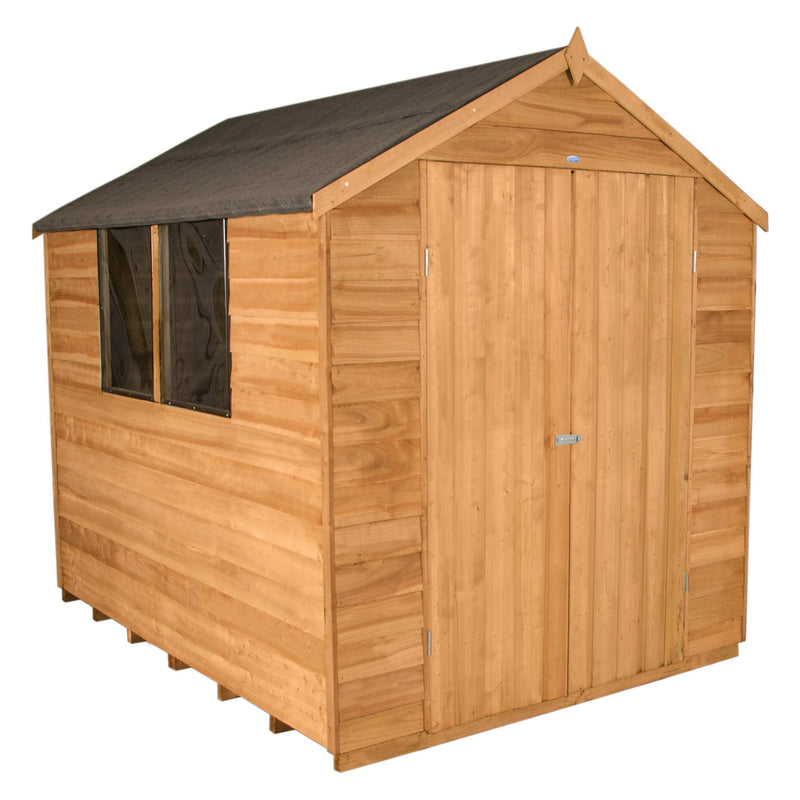 Forest Garden Forest Double Door Garden Shed Dip Treated 8x6