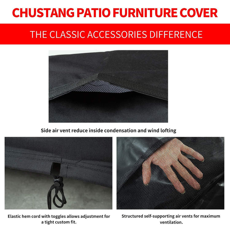 Garden Furniture Cover Chusstang Round Garden Table Cover
