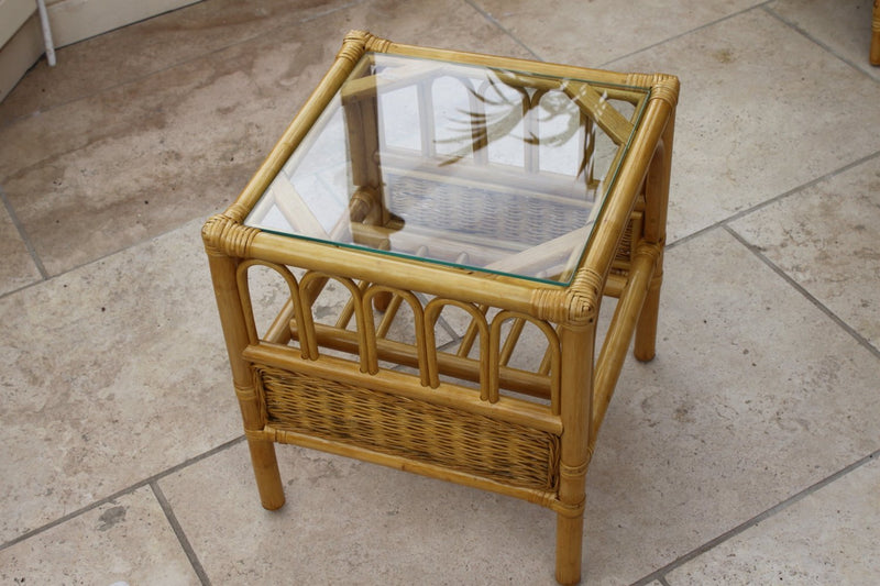 Garden Market Place Sorrento Cane Conservatory Furniture Duo
