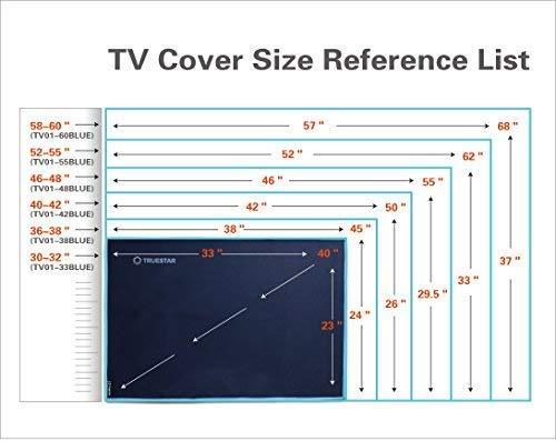 Garden TV Cover | 3 in 1 Oxford fabric + TPU Coating +