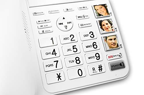 Geemarc CL595 Schnurgebundenes seniors phone answering