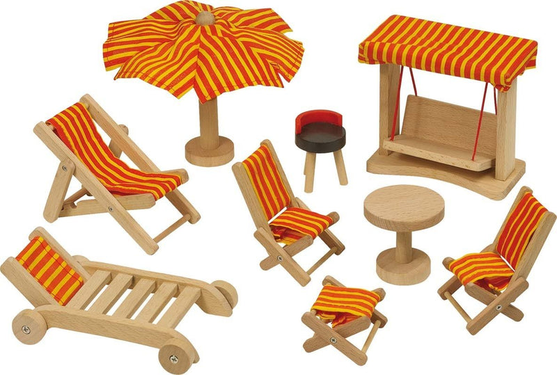 GoKi Dolls' House Garden Furniture