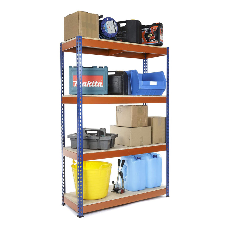 Heavy Duty Garage Racking 400kg UDL shelving unit 1800mm H x