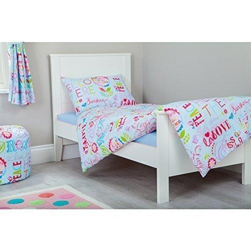 Hello There Design Children's Cot Bed Junior Toddler Size