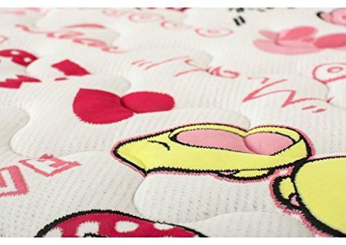 Hevea Disney Junior Mattress HR Foam (160 x 90 cm Graffiti
