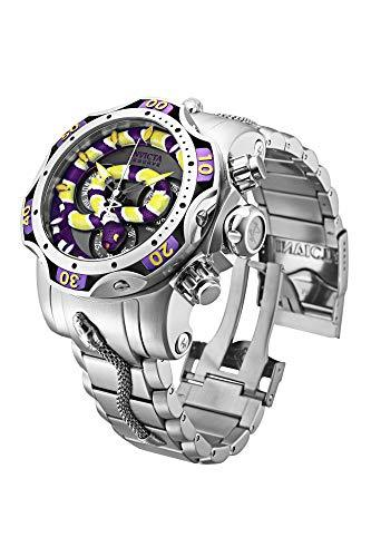 Invicta Men's Analogue Quartz Watch with Stainless Steel