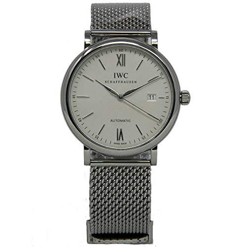 IWC Men's 40mm Steel Bracelet & Case S. Sapphire Automatic