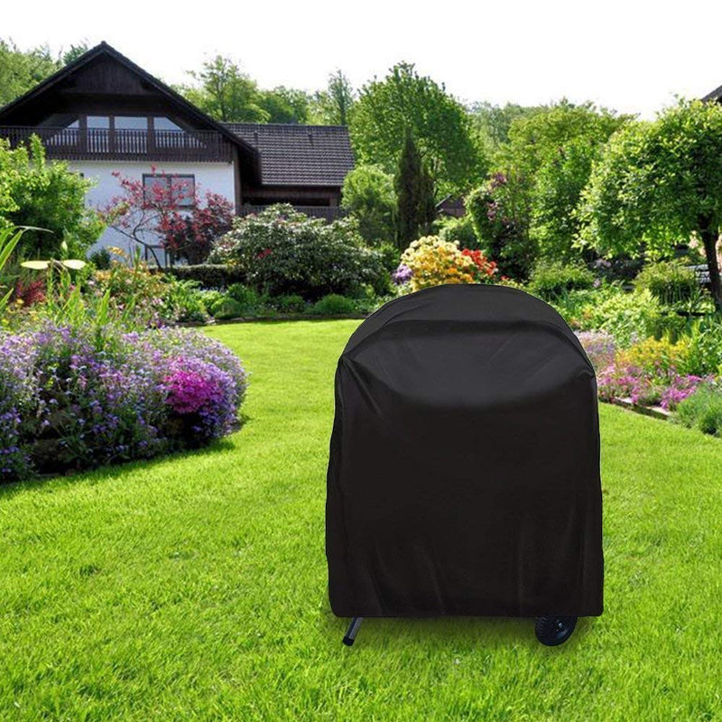 JTDEAL Grill Cover Waterproof BBQ Cover Anti-Dust Round