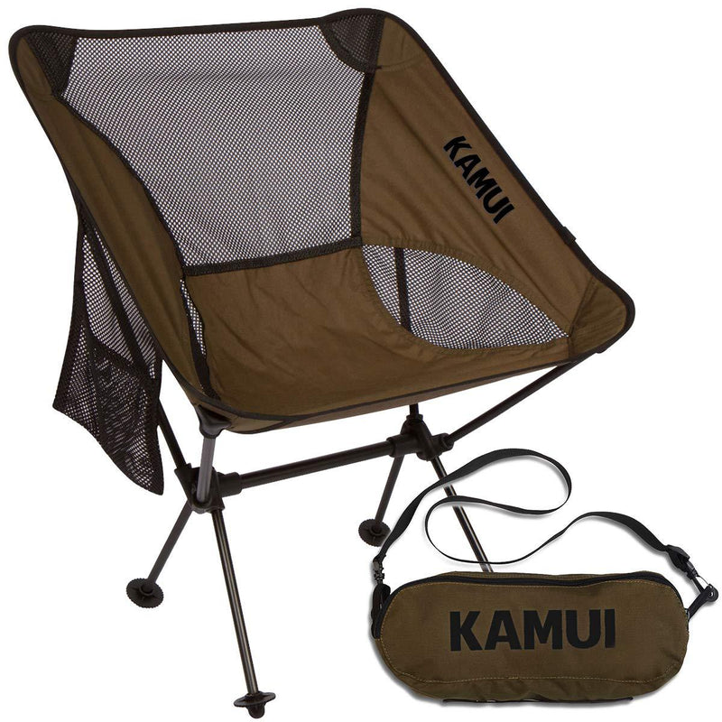 KAMUI Camping Chair Portable Compact Light-Weight Folding