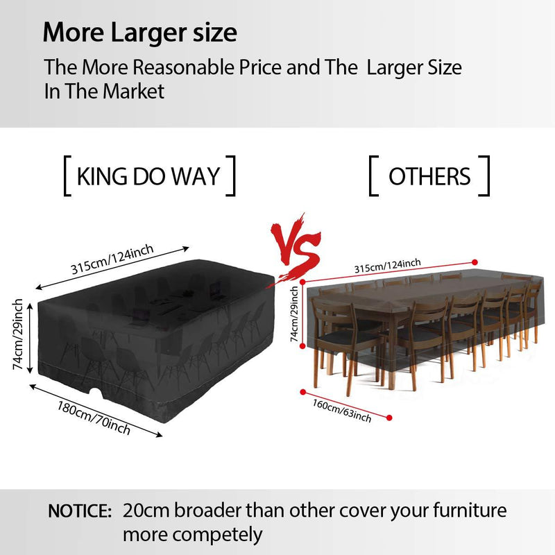 king do way Garden Furniture Covers,Large Garden Table Cover