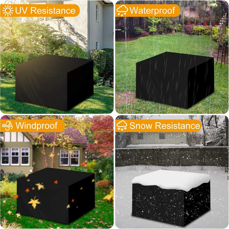 Landrip Cube Garden Furniture Covers Outdoor Table Covers