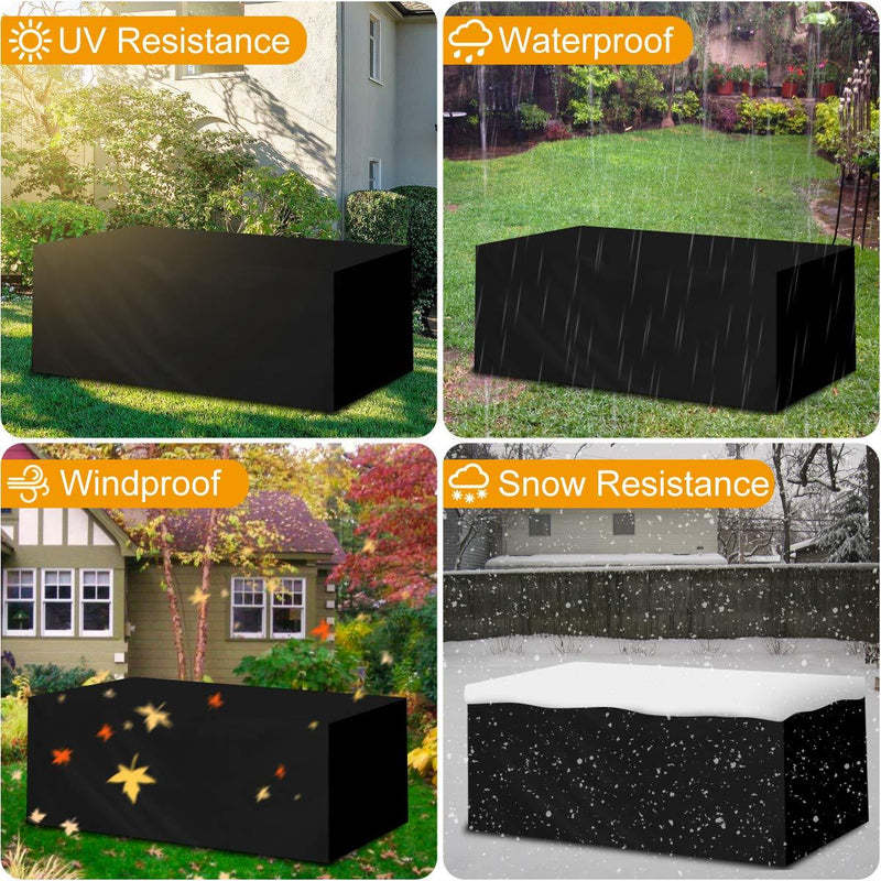 Landrip Garden Furniture Covers Outdoor Table Covers