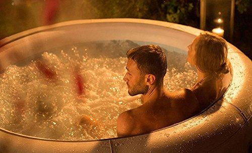 Lay-Z-Spa Vegas Hot Tub with 87 Airjet Massage System