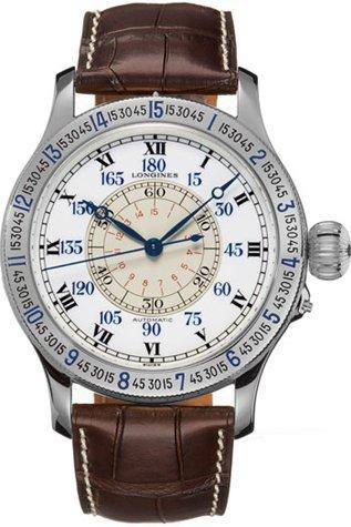 Longines Heritage Collection Lindbergh Mens Watch