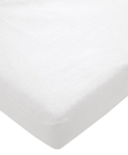 Mamas & Papas Moses Basket Mattress Protector White