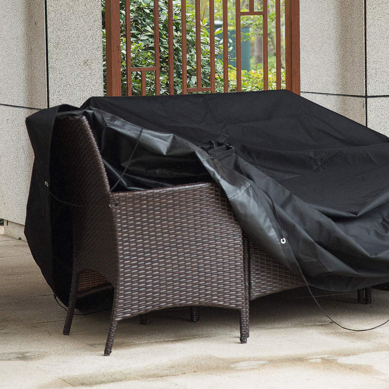 Meerveil Garden Furniture Cover Outdoor Furniture Covers