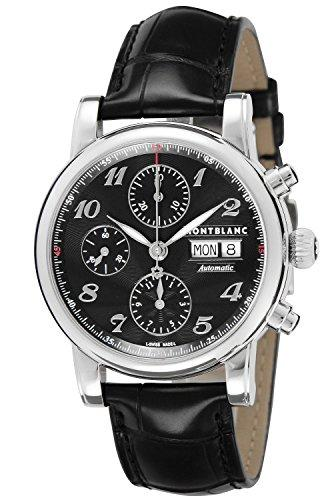 MONTBLANC STAR 106467 GENTS STAINLESS STEEL CASE AUTOMATIC