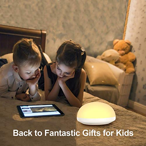 Night Light for Kids,Touch Bedside lamp,Rechargeable