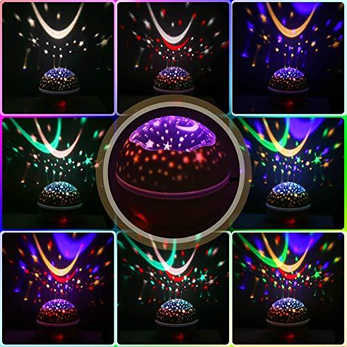 Night Lights for Kids Cute Gentle Warm Baby Star Light