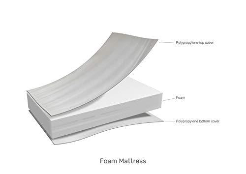 Obaby Foam Space Saver Cot Mattress - 100 x 50 cm